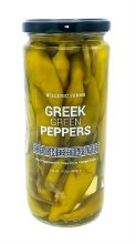 Greek Pepperoncini Peppers 15.5oz