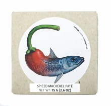 Spiced Mackerel Pate 2.6oz