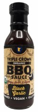 Black Garlic BBQ Sauce 12oz