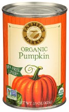 Organic Canned Pumpkin 15oz