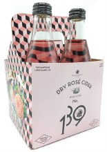 Dry Rose Cider 335ml, 4pk