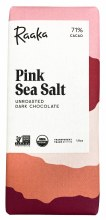 Pink Sea Salt 71% Dark Chocoalte Bar 1.8oz