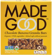 Chocolate Banana Granola Bars 5oz