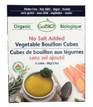 Vegetable Boullion Cubes (No Added Salt) 6pk