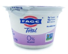 0% Plain Greek Yogurt 7oz