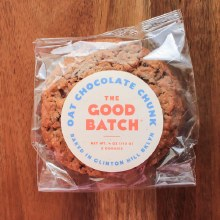 Oat Chocolate Chunk Cookies 2pk
