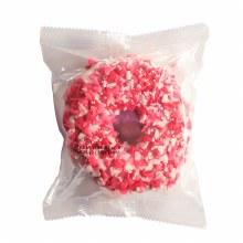 Valentine's Rice Krispy Donut