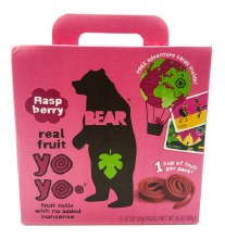Raspberry Fruit Snacks 5pk