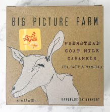 Sea Salt & Vanilla Goat Caramels Farm Box