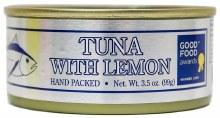 Smoked Albacore Tuna with Lemon 3.5oz
