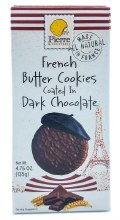 Dark Chocolate Butter Cookies 4.8oz