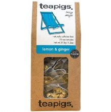 Lemon & Ginger Tea 15pk