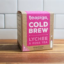 Lychee & Rose Cold Brew Tea 10pk