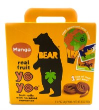 Mango Fruit Snacks 5pk