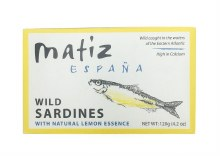 Sardines with Lemon in Oil 4.2oz