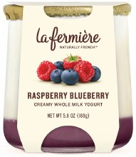 Raspberry Blueberry Yogurt 5.6