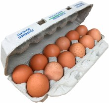Pastured Eggs, Dozen