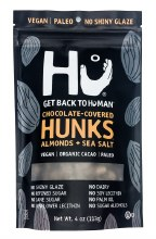 Sea Salt Chocolate Covered Almond Hunks 4oz