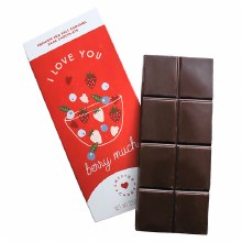 I Love You Berry Much Chocolate Bar 3.5oz