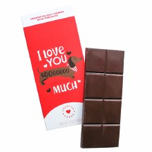 I Love You Sooooo Much Chocolate Bar 3.5oz
