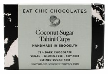 Coconut Sugar Tahini Cups 2pk