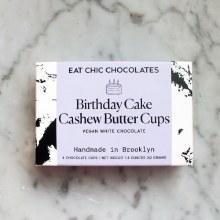 White Chocolate Birthday Cake Cups 4pk
