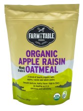 Apple Raisin Oatmeal 14oz