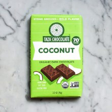 Organic Dark Chocolate Coconut Besos 2.5oz