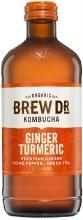 Ginger Turmeric Kombucha 16oz