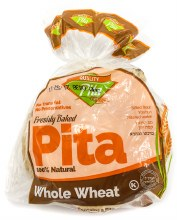 Whole Wheat Pita Bread 12.5oz