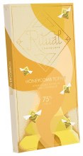 Honeycomb Toffee 75% Chocolate Bar 2.12oz