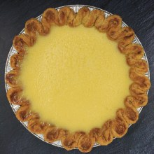 "Lemon Chess Pie 8"""