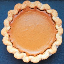 Brown Butter Pumpkin Pie 8""