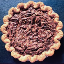 Chocolate Pecan Pie 8""