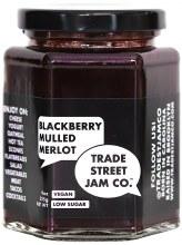 Blackberry Merlot Jam 9oz