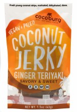 Ginger Teriyaki Coconut Jerky 1.5oz