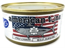 Wild Albacore No Salt 6oz