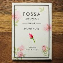 Lychee Rose 52% Dark Chocolate 40g