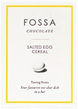 Salted Egg Cereal Blond Chocolate 40g