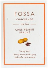 Chili Peanut Praline Dark Chocolate 54% 50g