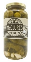 Whole Garlic & Dill Pickles 32oz
