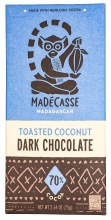 70% Toasted Coconut Bar 2.64oz