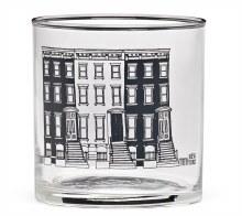 10oz NY Brownstone Glass