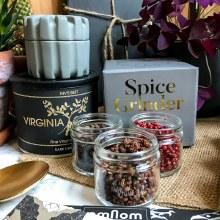Porcelain Spice Hand Grinder