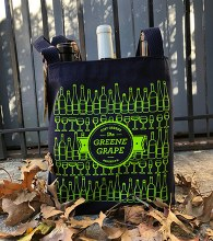 Reusable 6 Bottle Wine & Grocery Tote