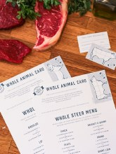 Whole Steer Gift Card