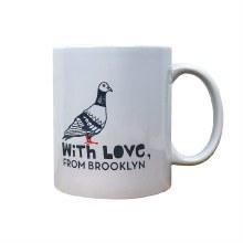Brooklyn Pigeon Mug