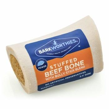 Bark Beef Bone Bully Stuffed