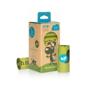 Earth Rated Poop Bags 8 Rolls
