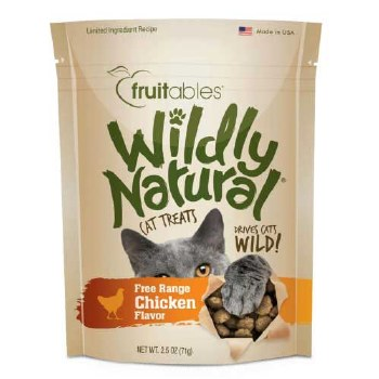 Fruitables Chicken Cat Treat 2.5oz